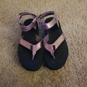 New TEVA PLATFORM THONG SANDALS